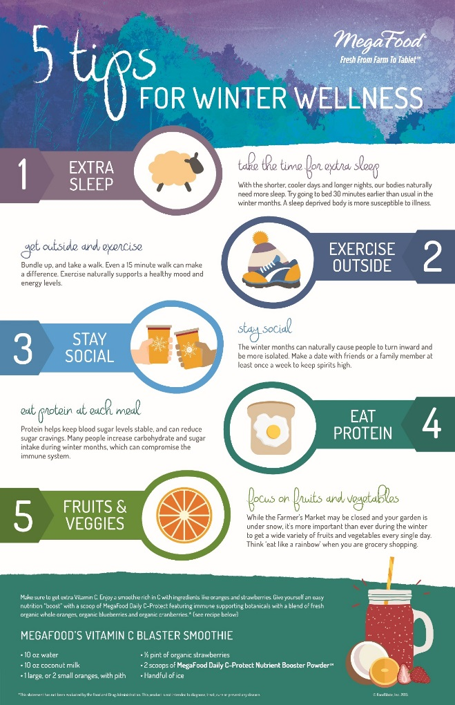 5 Tips To Stay Healthy In The Winter Months A Foodie